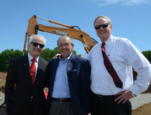 (Left to Right) - Dr. Bob Hughes, Rep. Larry Clark and Dr. Jim Ramsey